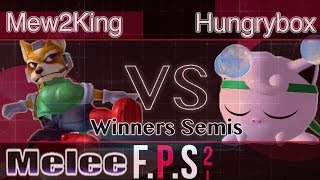 MVG FOX|Mew2King (Fox) vs. Liquid|Hungrybox (Jigglypuff) - Melee Winners Semis - FPS2