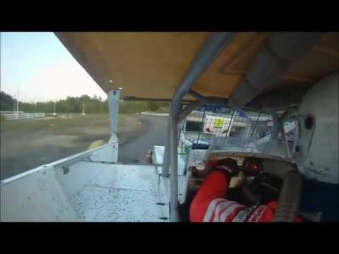 Jack Cook Dirt Modified In-Car Heat Race at Bear Ridge Speedway 5-19-2012