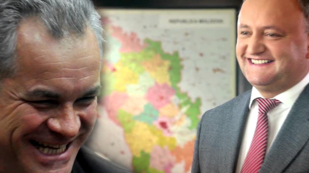 Главным препятствием для отстранения Плахотнюка от власти является Игорь Додон