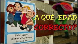 Alemania: Por qué van los niños solos a la escuela? | Bellisssimaa2TV