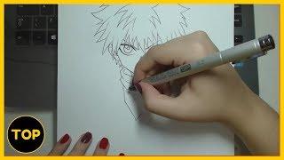 Como Fazer Desenhos de Anime - MANGÁ E ANIME DESENHOS