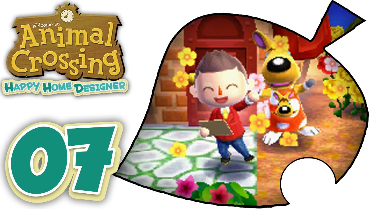 Animal Crossing Happy Home Designer - Part 7! [English ...