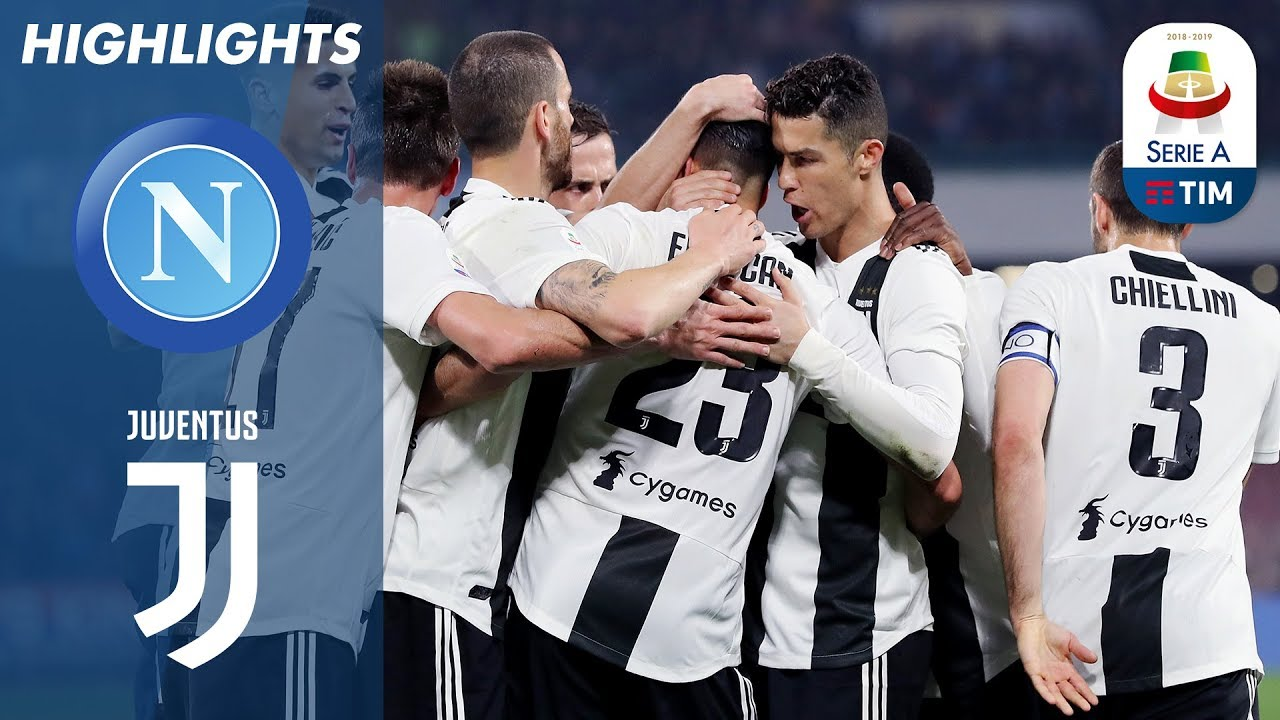 Napoli 1 2 Juventus Two Red Cards As Juventus Extend