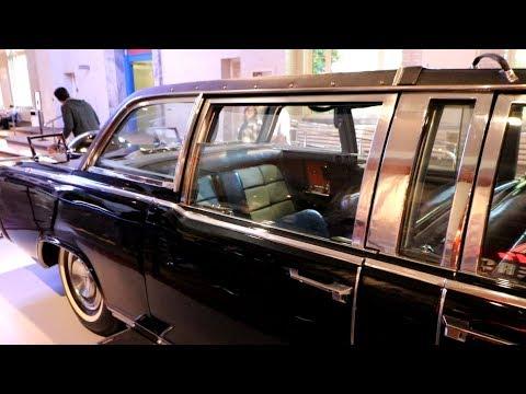 #802 JFKs Assassination Limo & Thomas Edisons LAST BREATH  Daily Travel Vlog 101718