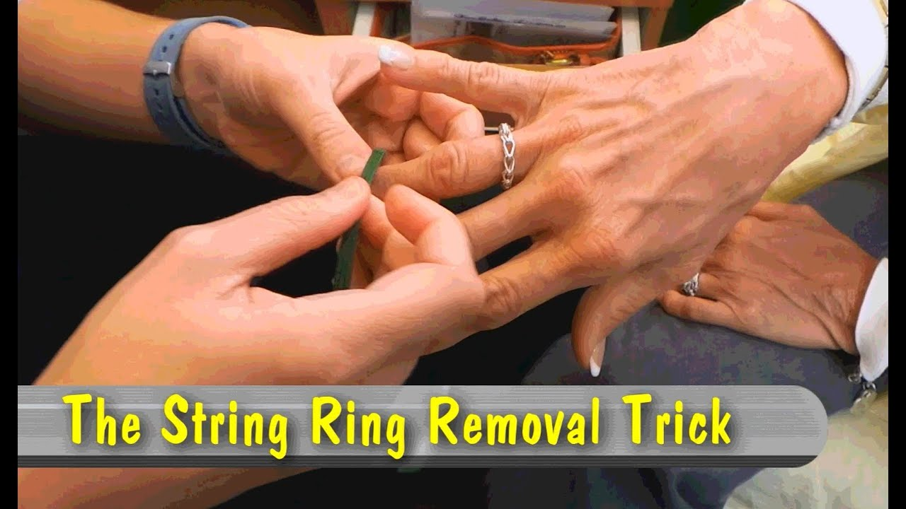The String Ring Removal Trick Youtube