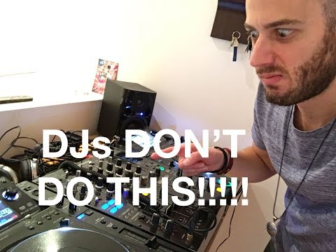 DJ Tutorial for Better Mixing - Don't Wait Too Long to Mix Out!