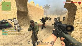 Counter-Strike:Source Gameplay 2016 PC/HD 7750 (Serverele dispar !)