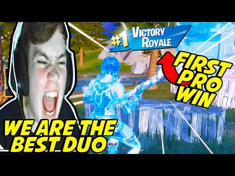 Mongraal & Benjyfishy DOMINATED Their First Duo Tournament & Got Their First WIN As A Duo
