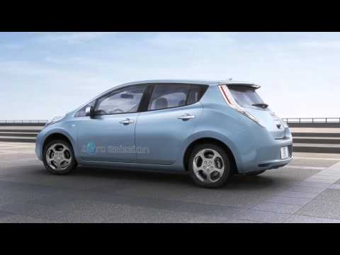 2016 Nissan LEAF - Approaching Vehicle Sound for Pedestrians (VSP) System