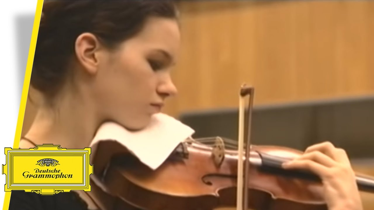 Hilary Hahn - Edward Elgar & Vaughan Williams (Trailer)