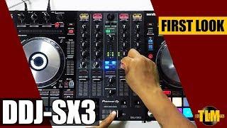 First Look: the brand new Pioneer DJ DDJ-SX3