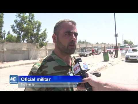 Sirios en Homs tienen un respire de paz