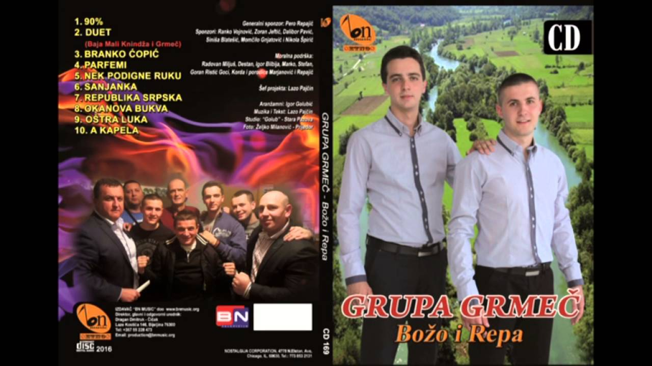 Grupa Grmec Bozo i Repa - Okanova bukva BN Music Etno 2016 Audio