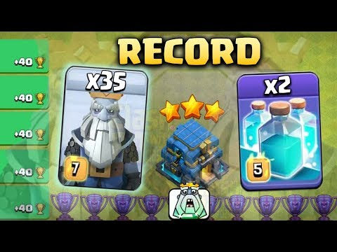35 Royal Ghost + 2 Clone Spell +4 Haste Spell : NEW TH12 LEGEND PUSH 3STAR STRATEGY 2019(New Update)