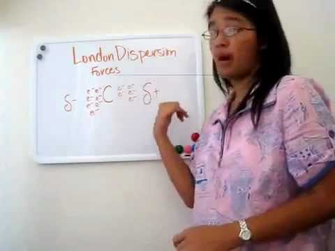Chemistry: Intermolecular Forces: London Dispersion Forces | Alice Chen