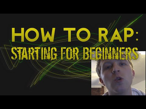 How to Start Rapping | Simple Ideas For Beginners
