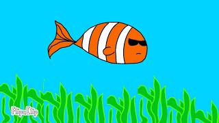 А я рыба анимация (flipaClip)