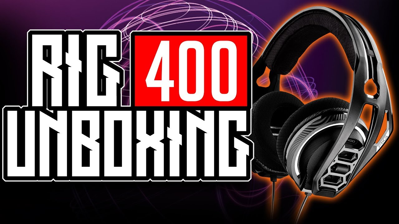 Plantronics RIG 400LX UNBOXING STEREO GAMING HEADSET OVERVIEW With Dolby  Atmos for XBOX ONE X