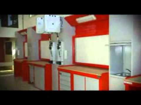 Micro bdk 05 muebles y accesorios para talleres youtube - Garajes para coches ...