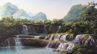 Video Ban Gioc Waterfall - Paint with Kevin® download MP3, 3GP, MP4, WEBM, AVI, FLV Juli 2018