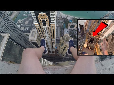 CAUGHT BY POLICE IN DUBAI CLIMBING 400M CRANE!