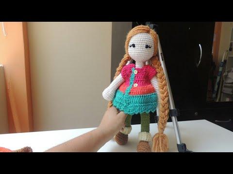 Como Tejer Cabeza Y Cuerpo Muñeca Kristy Crochet
