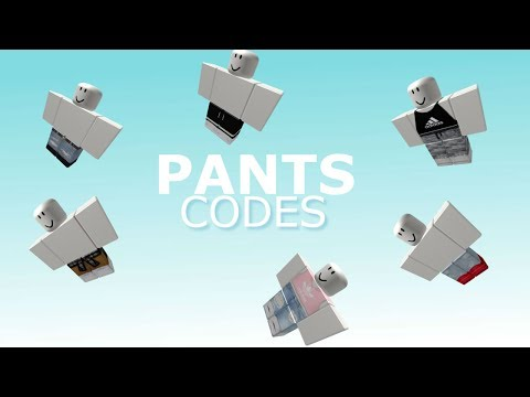 Roblox Id Pants Pants Codes On Roblox For Boys And Girls Youtube