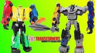 Transformers Robots in Disguise Menasor & Ultra Bee MEGA Combiner Force Adventure!!
