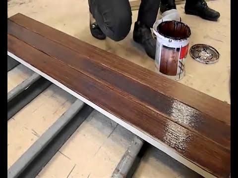 การติดตั้งและทำสี ไม้พื้น SmartWOOD.wmv