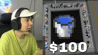 El último que hace Waterdrop gana $100