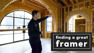Finding a Great Framer - 3 Tips