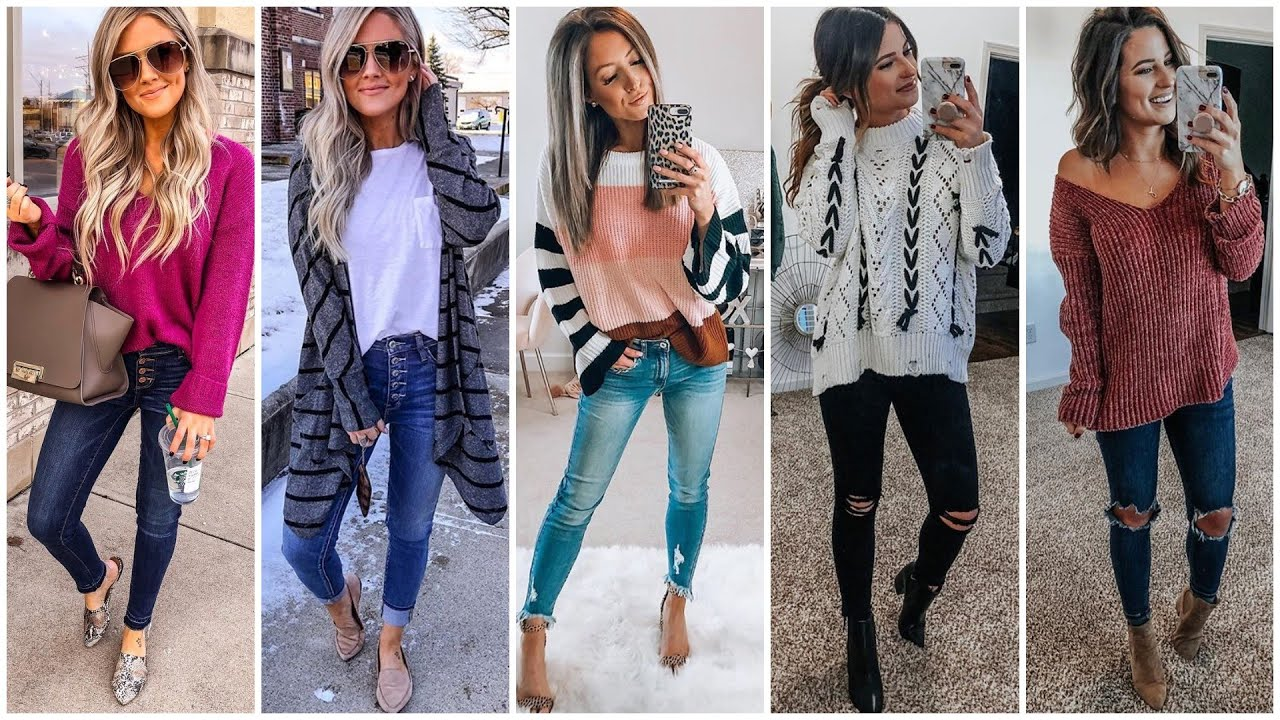 MODA | OTOÑO ONVIERNO 2020 - Outfits Casuales 2020 - FALL WINTER OUTFIT IDEAS 2020