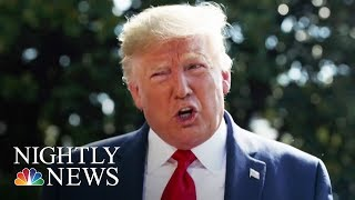 Trump Under Fire For Sharing Jeffrey Epstein Conspiracy Theory   NBC Nightly News