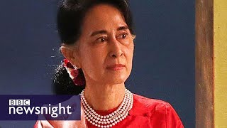 Aung San Suu Kyi\'s fall from grace? BBC Newsnight