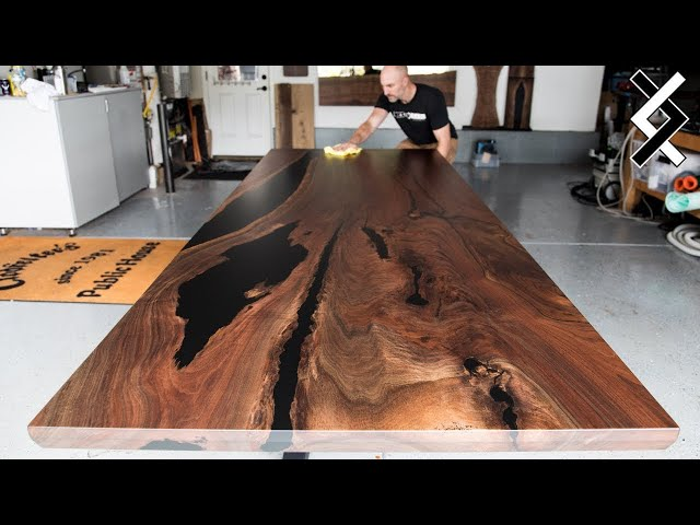 How to Finish a Table - How to Apply Rubio Monocoat
