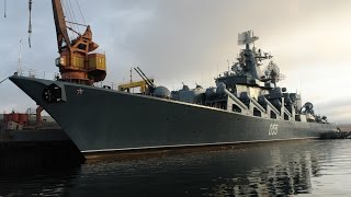Самый мощный надводный корабль в мире   Петр Великий  Надводные атомоходы России