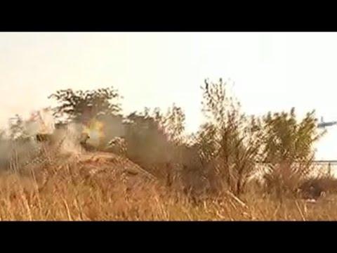 Украина.Минус один русский снайпер.Выстрел из ПТУРа.  Видео |Донецк,Луганск / Ukraine News