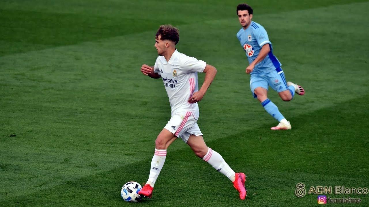 Pablo Ramón - Real Madrid Castilla vs Badajoz (02/04/2021)