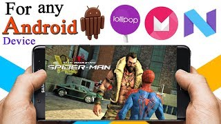 Highly Compressed Amazing Spiderman Android Game free download