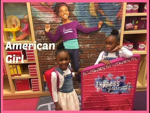 VLOG 2 | AMERICAN GIRL DOLL STORE | Atlanta Mall