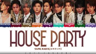 Download SUPER JUNIOR (슈퍼주니어) – 'HOUSE PARTY' Lyrics [Color Coded_Han_Rom_Eng]