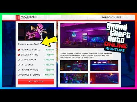 GTA Online Nightlife Update: Nightclub Features - Vehicle Storage, Club Management & MORE! (GTA 5)