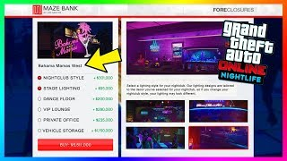 GTA Online Nightlife Update: Nightclub Features - Vehicle Storage, Club Management & MORE! (GTA 5)