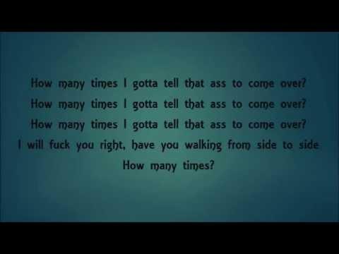 DJ Khaled - How Many Times Ft. Chris Brown,Lil Wayne, Big Sean (LYRICS)