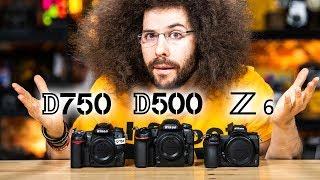 Nikon Z6 vs D750 vs D500 | Which Camera to Buy? The ULTIMATE BATTLE