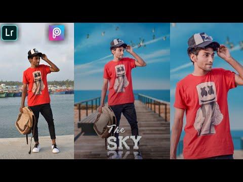 "Picsart and Adobe Lightroom 🔥 ""Summer"" manipulation editing Tutorial in Mobile thumbnail"