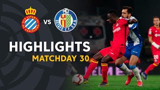 Highlights RCD Espanyol vs Getafe CF (1-1)
