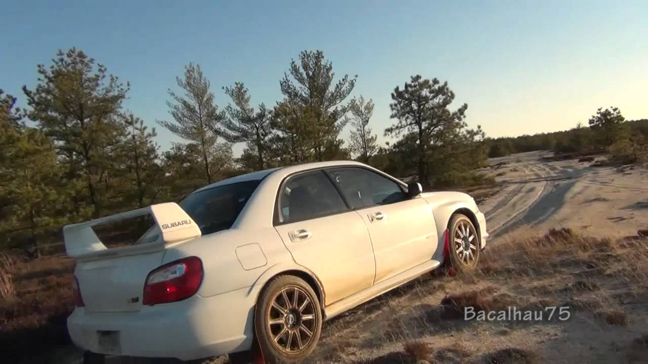 Off Roading The Subaru Impreza Sti In A Desert Youtube