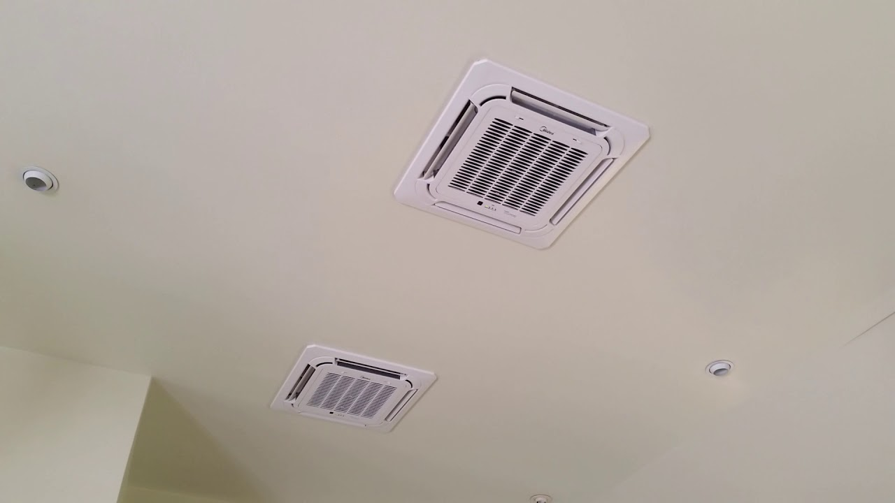 Cooling Cayman S Ceiling Cassette Installation Youtube