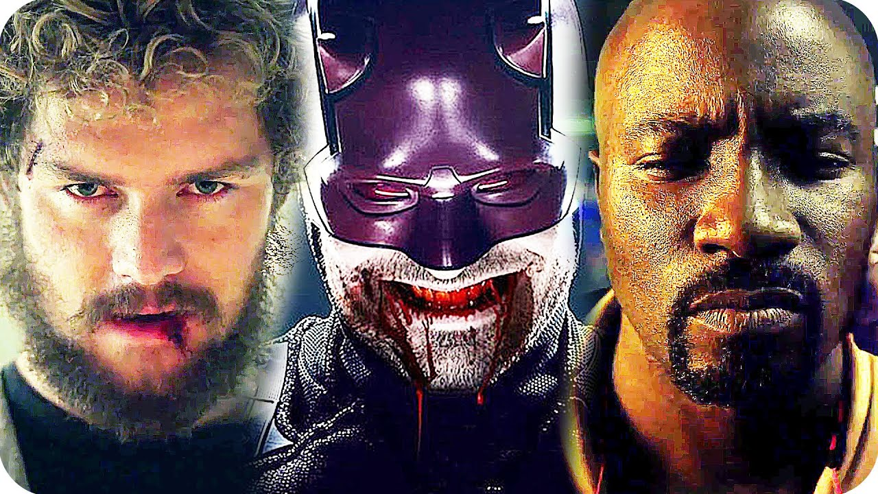 Top moments from Marvels The Defenders trailer